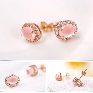 💖Anthropologie Rose Gold Earrings 🌟
